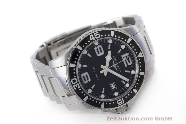 Used luxury watch Longines Hydro Conquest steel quartz Kal. L263.2 ETA 955412 Ref. L3.640.4  | 162104 03