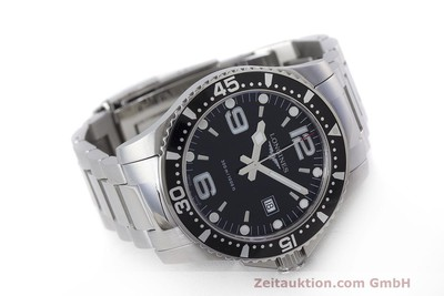 LONGINES HYDRO CONQUEST GENTS HERRENUHR EDELSTAHL L3.640.4 LP: 830,-Euro [162104]