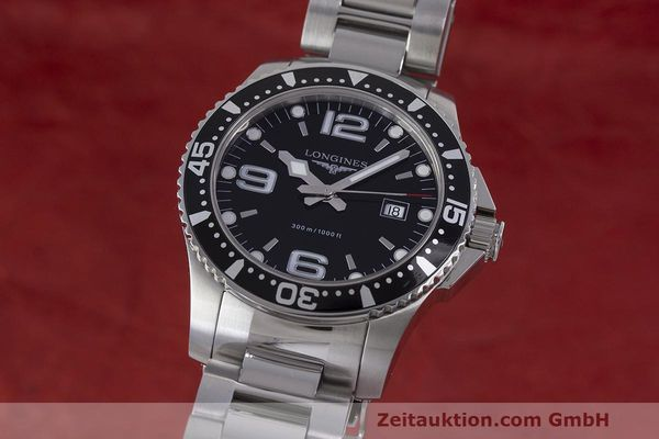 Used luxury watch Longines Hydro Conquest steel quartz Kal. L263.2 ETA 955412 Ref. L3.640.4  | 162104 04