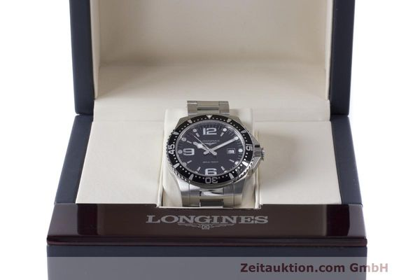 Used luxury watch Longines Hydro Conquest steel quartz Kal. L263.2 ETA 955412 Ref. L3.640.4  | 162104 07