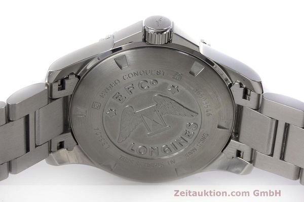 Used luxury watch Longines Hydro Conquest steel quartz Kal. L263.2 ETA 955412 Ref. L3.640.4  | 162104 09