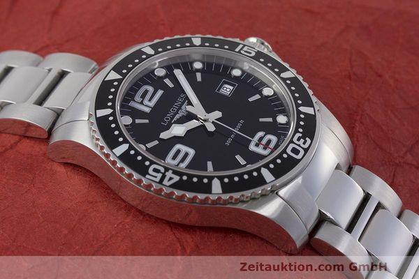 Used luxury watch Longines Hydro Conquest steel quartz Kal. L263.2 ETA 955412 Ref. L3.640.4  | 162104 16