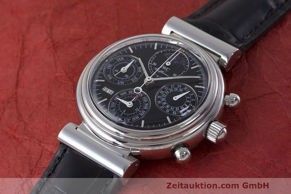 Used luxury watch IWC Da Vinci chronograph steel automatic Kal. 79261 Ref. 3750028  | 162106 01