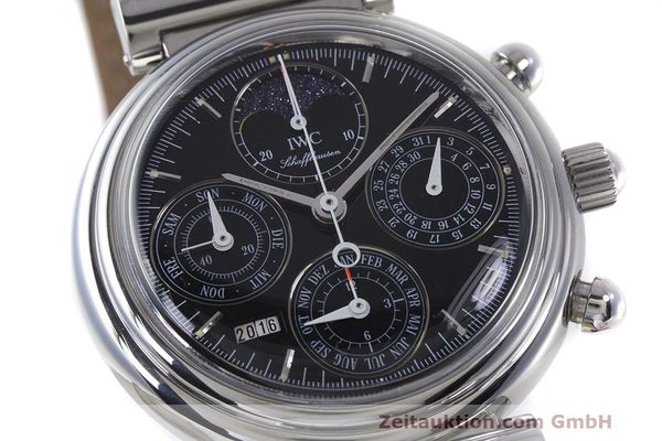 Used luxury watch IWC Da Vinci chronograph steel automatic Kal. 79261 Ref. 3750028  | 162106 02