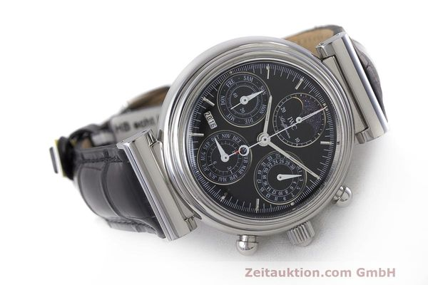 Used luxury watch IWC Da Vinci chronograph steel automatic Kal. 79261 Ref. 3750028  | 162106 03