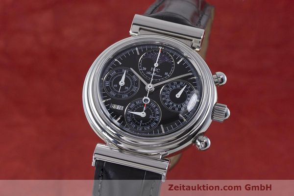 Used luxury watch IWC Da Vinci chronograph steel automatic Kal. 79261 Ref. 3750028  | 162106 04
