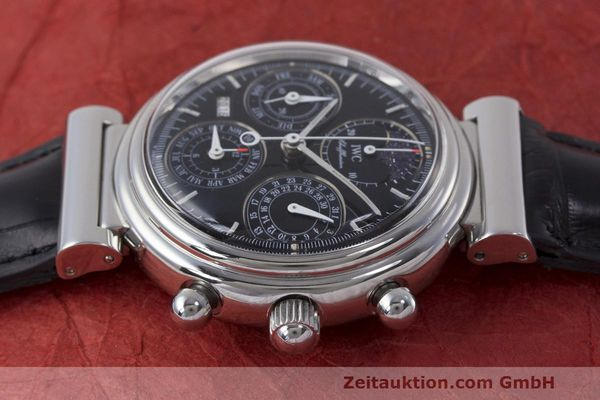 Used luxury watch IWC Da Vinci chronograph steel automatic Kal. 79261 Ref. 3750028  | 162106 05