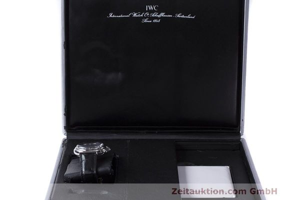 Used luxury watch IWC Da Vinci chronograph steel automatic Kal. 79261 Ref. 3750028  | 162106 07