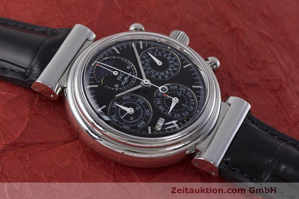 Used luxury watch IWC Da Vinci chronograph steel automatic Kal. 79261 Ref. 3750028  | 162106 18