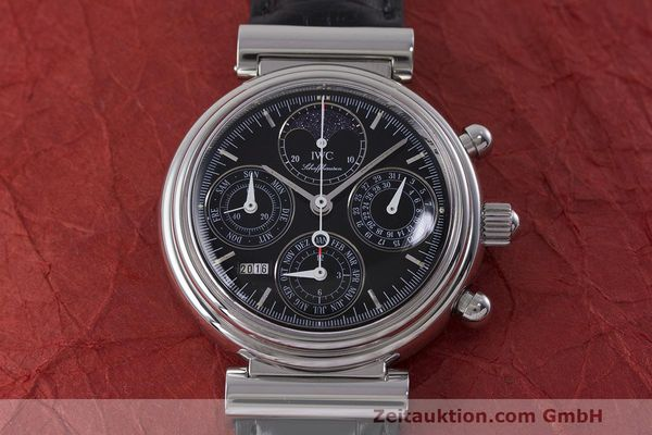 Used luxury watch IWC Da Vinci chronograph steel automatic Kal. 79261 Ref. 3750028  | 162106 19