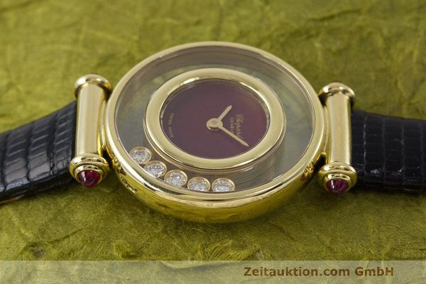 Used luxury watch Chopard Happy Diamonds 18 ct gold quartz Kal. ETA 201001 Ref. 20/4780-21  | 162108 05