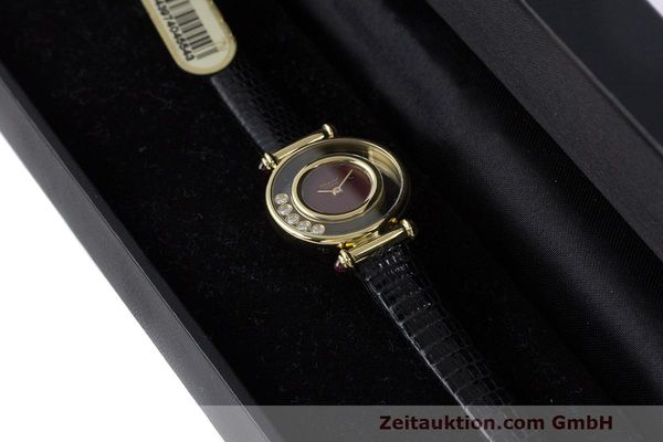 Used luxury watch Chopard Happy Diamonds 18 ct gold quartz Kal. ETA 201001 Ref. 20/4780-21  | 162108 07