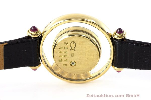 Used luxury watch Chopard Happy Diamonds 18 ct gold quartz Kal. ETA 201001 Ref. 20/4780-21  | 162108 08