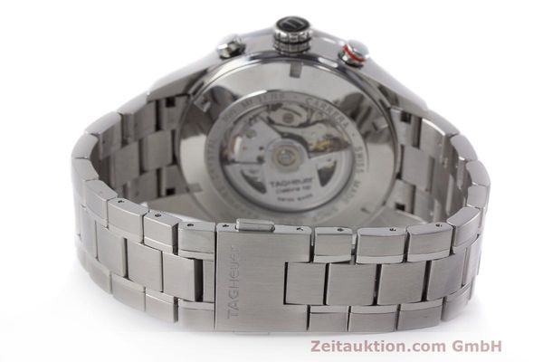 Used luxury watch Tag Heuer Carrera chronograph steel automatic Kal. 16 ETA 7750 Ref. CV2A10  | 162111 12