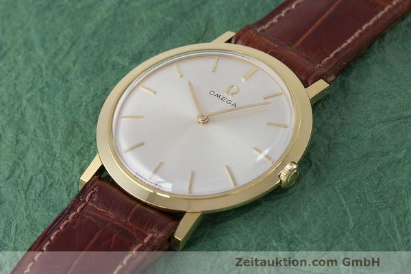 Used luxury watch Omega * 18 ct gold manual winding Kal. 620 Ref. 111.022 VINTAGE  | 162112 01