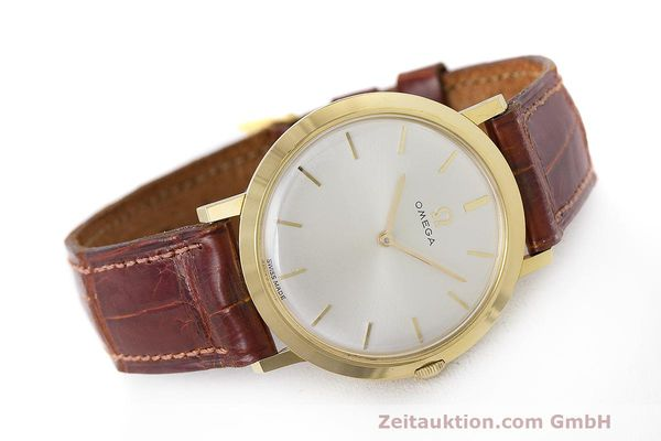 Used luxury watch Omega * 18 ct gold manual winding Kal. 620 Ref. 111.022 VINTAGE  | 162112 03