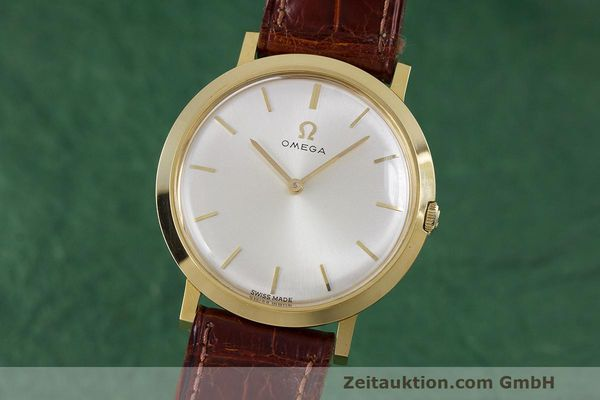 Used luxury watch Omega * 18 ct gold manual winding Kal. 620 Ref. 111.022 VINTAGE  | 162112 04