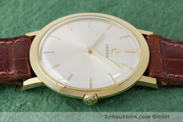 Used luxury watch Omega * 18 ct gold manual winding Kal. 620 Ref. 111.022 VINTAGE  | 162112 05