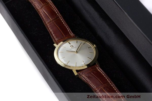 Used luxury watch Omega * 18 ct gold manual winding Kal. 620 Ref. 111.022 VINTAGE  | 162112 07
