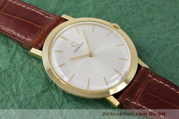 Used luxury watch Omega * 18 ct gold manual winding Kal. 620 Ref. 111.022 VINTAGE  | 162112 14