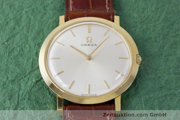 Used luxury watch Omega * 18 ct gold manual winding Kal. 620 Ref. 111.022 VINTAGE  | 162112 15