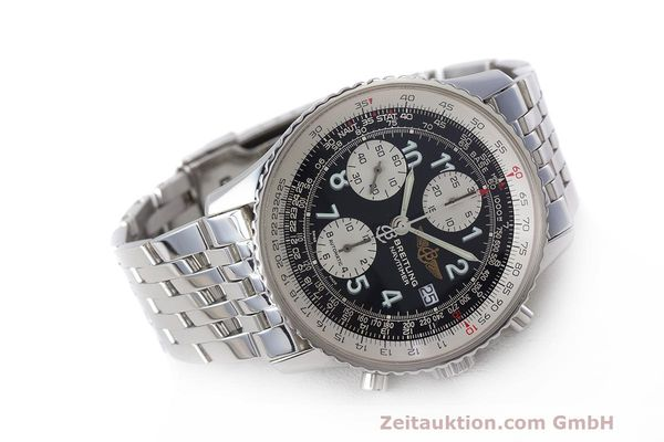 Used luxury watch Breitling Navitimer chronograph steel automatic Kal. B13 ETA 7750 Ref. A13322  | 162116 03