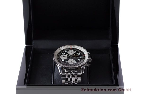 Used luxury watch Breitling Navitimer chronograph steel automatic Kal. B13 ETA 7750 Ref. A13322  | 162116 07