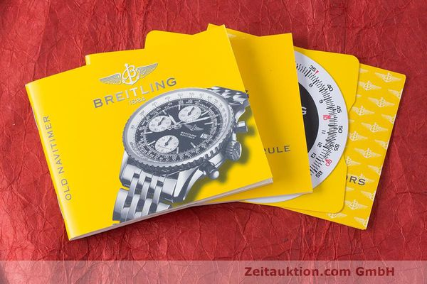 Used luxury watch Breitling Navitimer chronograph steel automatic Kal. B13 ETA 7750 Ref. A13322  | 162116 13