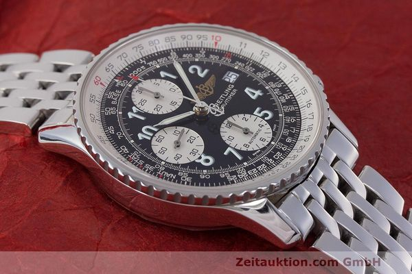 Used luxury watch Breitling Navitimer chronograph steel automatic Kal. B13 ETA 7750 Ref. A13322  | 162116 16
