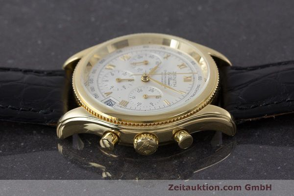 Used luxury watch Zenith El Primero chronograph 18 ct gold automatic Kal. 400 Ref. 06.0210.400  | 162119 05