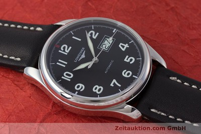 LONGINES MASTER COLLECTION AUTOMATIK HERRENUHR L2.648.4 GLASBODEN NP: 1750,- Euro [162120]