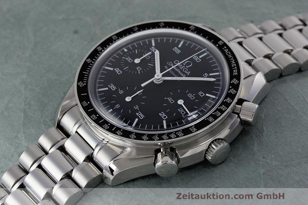 Used luxury watch Omega Speedmaster chronograph steel automatic Kal. 3220 Ref. 3510.50.00  | 162121 01