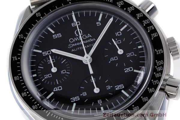 Used luxury watch Omega Speedmaster chronograph steel automatic Kal. 3220 Ref. 3510.50.00  | 162121 02
