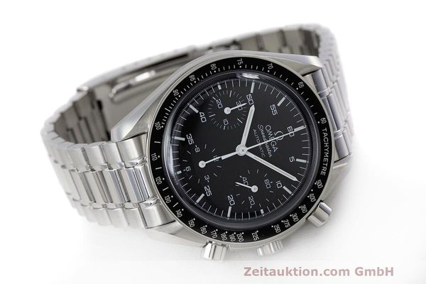 Used luxury watch Omega Speedmaster chronograph steel automatic Kal. 3220 Ref. 3510.50.00  | 162121 03