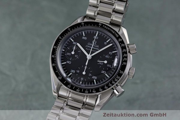 Used luxury watch Omega Speedmaster chronograph steel automatic Kal. 3220 Ref. 3510.50.00  | 162121 04