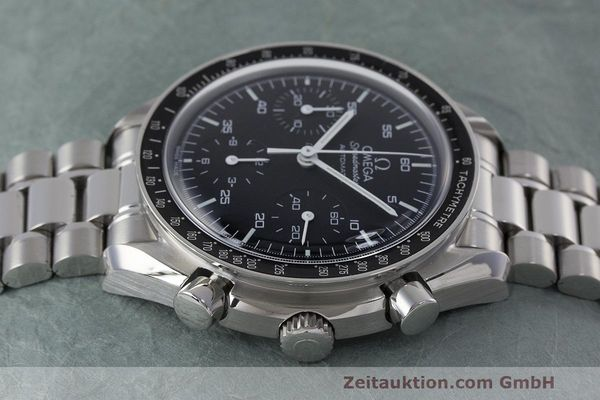 Used luxury watch Omega Speedmaster chronograph steel automatic Kal. 3220 Ref. 3510.50.00  | 162121 05