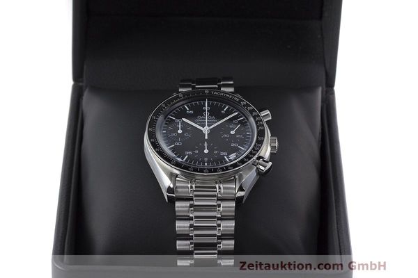 Used luxury watch Omega Speedmaster chronograph steel automatic Kal. 3220 Ref. 3510.50.00  | 162121 07
