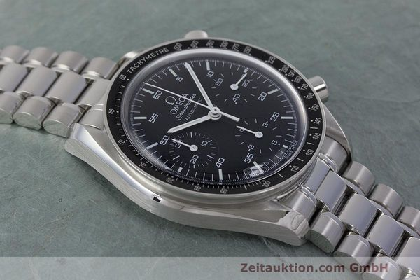 Used luxury watch Omega Speedmaster chronograph steel automatic Kal. 3220 Ref. 3510.50.00  | 162121 14