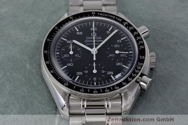 Used luxury watch Omega Speedmaster chronograph steel automatic Kal. 3220 Ref. 3510.50.00  | 162121 15