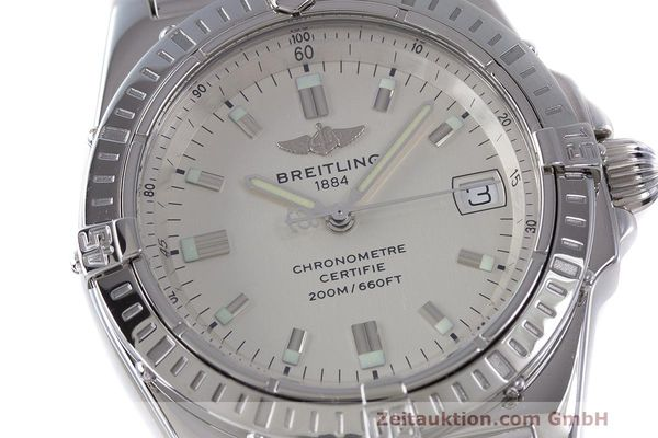 Used luxury watch Breitling Callisto steel quartz Kal. B77 ETA 955452 Ref. A77346  | 162135 02