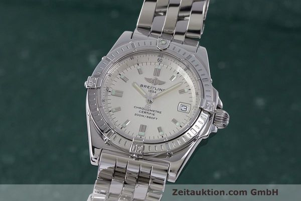 Used luxury watch Breitling Callisto steel quartz Kal. B77 ETA 955452 Ref. A77346  | 162135 04