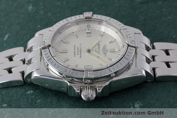Used luxury watch Breitling Callisto steel quartz Kal. B77 ETA 955452 Ref. A77346  | 162135 05