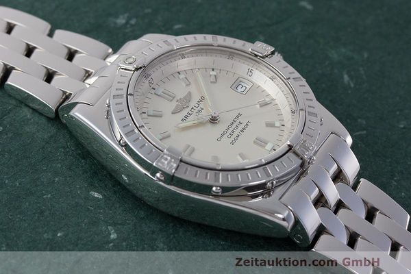 Used luxury watch Breitling Callisto steel quartz Kal. B77 ETA 955452 Ref. A77346  | 162135 13