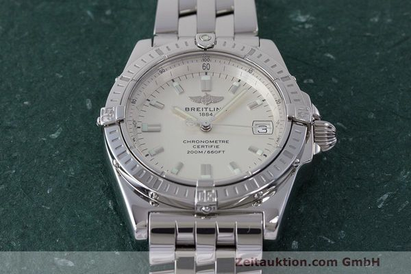 Used luxury watch Breitling Callisto steel quartz Kal. B77 ETA 955452 Ref. A77346  | 162135 14