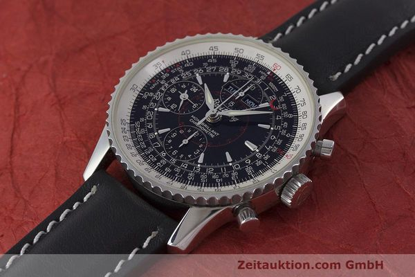 Used luxury watch Breitling Montbrillant chronograph steel automatic Kal. B21 ETA 7751 Ref. A21330  | 162137 01