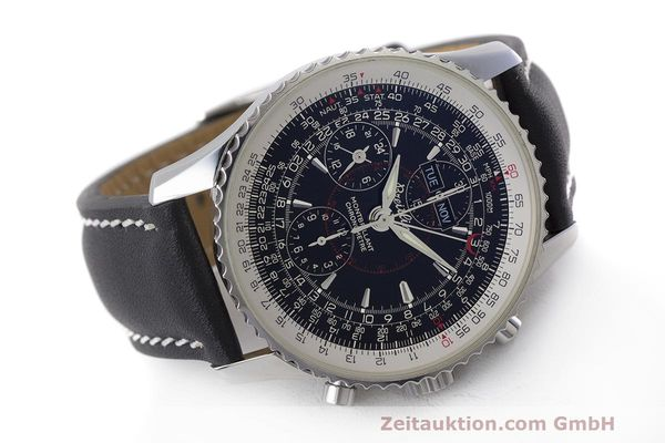 Used luxury watch Breitling Montbrillant chronograph steel automatic Kal. B21 ETA 7751 Ref. A21330  | 162137 03