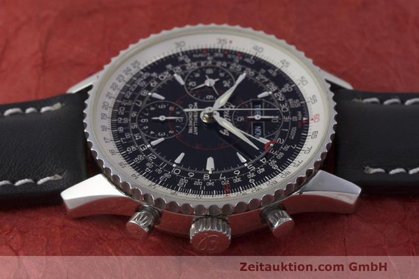 Used luxury watch Breitling Montbrillant chronograph steel automatic Kal. B21 ETA 7751 Ref. A21330  | 162137 05