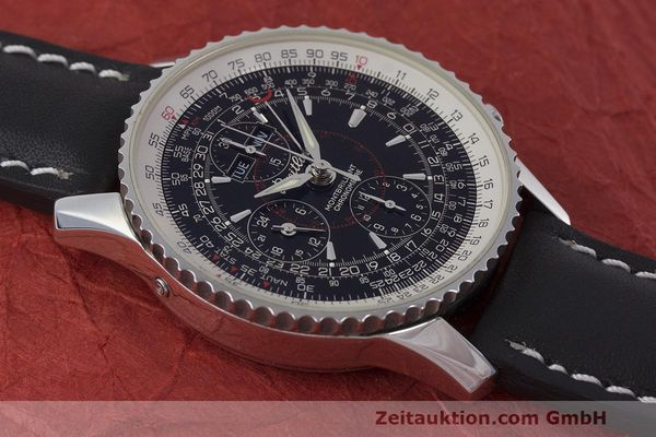 Used luxury watch Breitling Montbrillant chronograph steel automatic Kal. B21 ETA 7751 Ref. A21330  | 162137 14