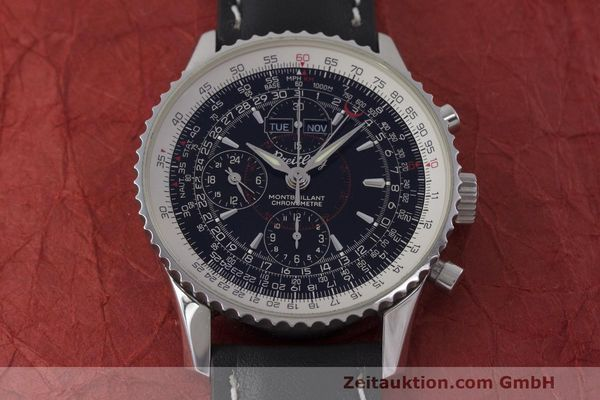 Used luxury watch Breitling Montbrillant chronograph steel automatic Kal. B21 ETA 7751 Ref. A21330  | 162137 15