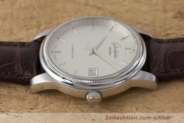 Used luxury watch Glashütte Senator steel automatic Kal. GUB 39  | 162138 05